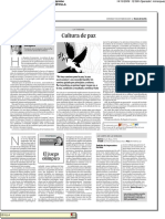 Columna Diario de Sevilla Cultura de Paz