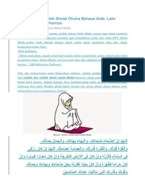 Bacaan Doa Setelah Sholat Dhuha Bahasa Arab