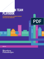 Innovation Team Playbook 2015