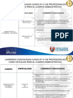Carreras Convocadas Curso No.41 Modificado2