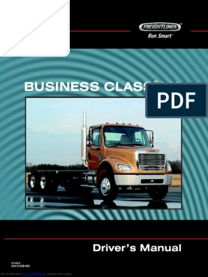 Freightliner BUSINESS CLASS M2 Driver Manual | Exhaust Gas