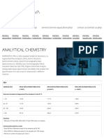 Analytical Chemistry - MARINNOVA