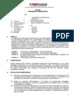 Silabo Fundamento Empresarial 030403113 UAP