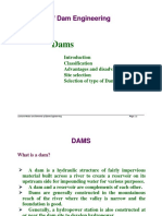 Module 1 Elements of Dam Engineering