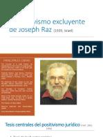 El positivismo excluyente de Joseph Raz.pptx