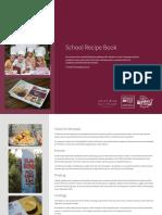 WPS School Recipe Book Notes