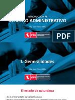 Introducción al Derecho Administrativo