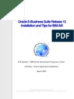 ORA EBS r12 AIX Installation & Tips 090316