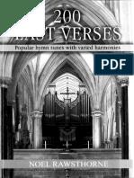 Hymn Altered Harmonizations Descants Last Verse
