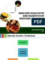 Analisis Kualitatif Dan Kuantiatif Senyawa Fitokimia