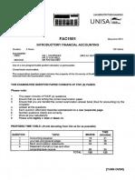 FAC1501 Exam May.june 2013