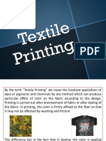 Textile Printing for FDT