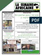 la semaine africaine n°3749