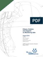 Kibana, Grafana and Zeppelin on monitoring data