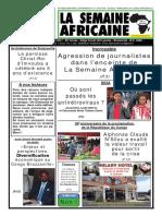 la semaine africaine n°3748