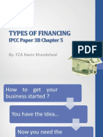Ip 3 Bch 5 Types of Financing