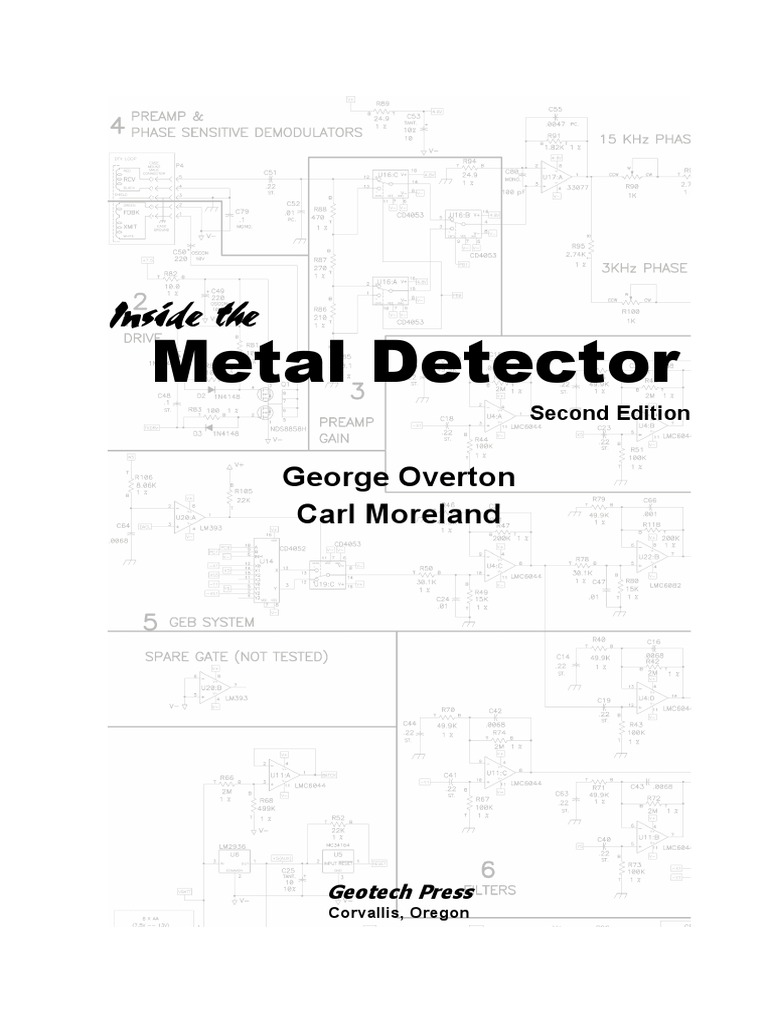 Inside The Metal Detector By George Overton Circuit Diagram 555 Delay With Watchdog Composed Printed Board