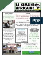 la semaine africaine n°3741