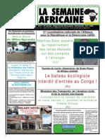 la semaine africaine n°3742