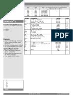 Semikron Datasheet Skkd 260-16-07898645