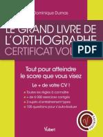 PDF CERTIFICATION EN ORTHOGRAPHE