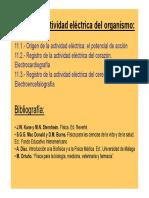 T11.- Actividad Eléctrica Del Organismo