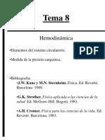 Tema 8 Hemodinámica 220916