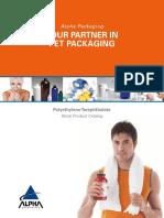 Alpha PET Stock Product Catalog