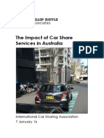 2. the Impact of Car Share Services in Australia