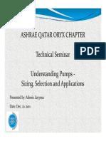 ASHRAE Presentation Nov 19, 2011