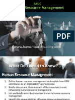 Human Resources Basic