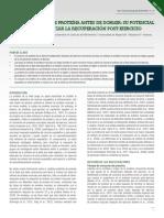 Consumo de Proteína Antes de Dormir Su Potencial Para Optimizar La Recuperación Post-ejercicio
