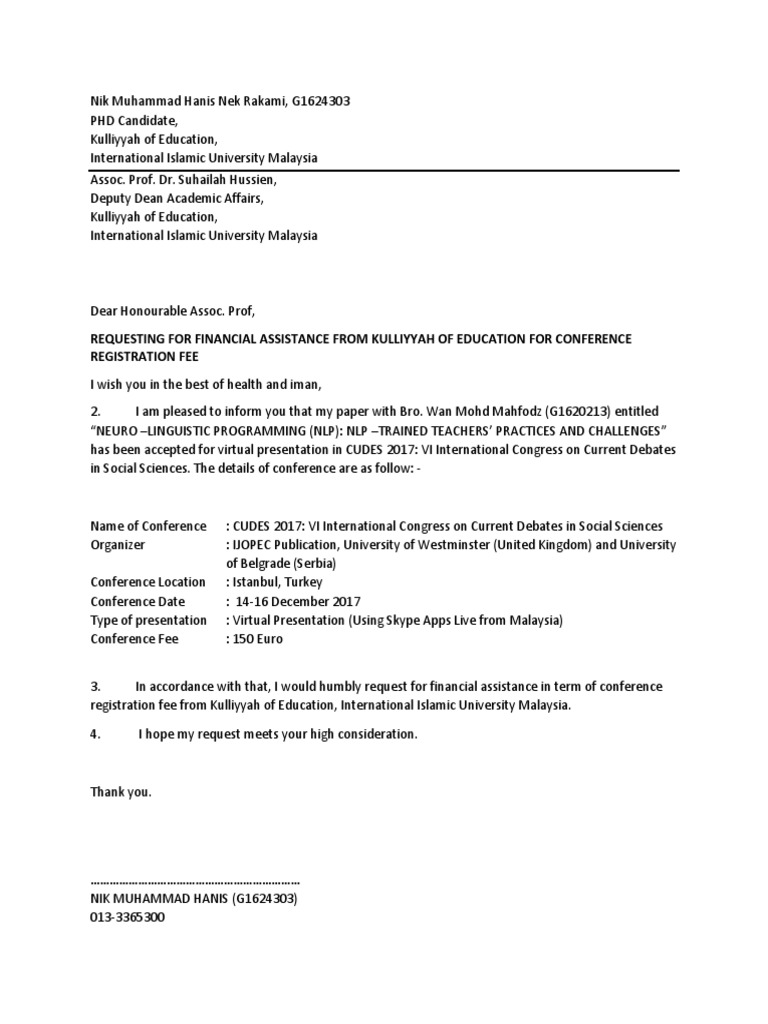 Letter For Financial Assistance from imgv2-2-f.scribdassets.com