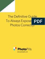 Photopills Exposure En