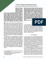 Evoolution of Tc-99m in Diagnostic Radiopharmaceuticals
