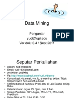 Pengantar Data Mining