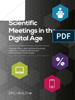 Scientific Meetings in the Digital Age Report