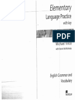 Elementary Language Practice