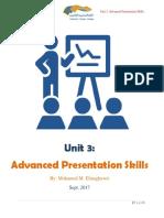unit 3- advanced presentation skills 2