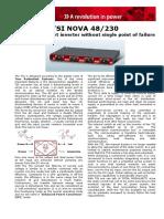 Tsi Nova 48 230 Data Sheet v101