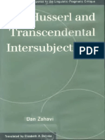Husserl and Transcendental Interactivity