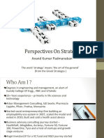 Strategy Consulting - A Perspective