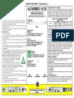 10a. Etiqueta - Alfarmex 10 CE - 1 L