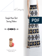 Simple Max i Skirt PDF Pattern 1