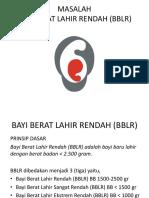 BAYI BERAT LAHIR RENDAH (BBLR) POLOS.pptx