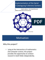 A Parallel Implementation of the Spiral Algorithm for Enumerating Fullerene Isomers