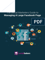Socialbakers Guide to Managing Large Facebook Pages