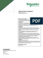 ADVC2-1184 Battery Heater