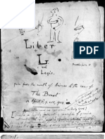 Liber AL Vel Legis - The Book of the Law - Quality Scans From the Original Manuscript by the Hand of Aleister Crowley