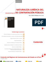 6 Ana Cristina Velásquez - OSCE Perú Naturaleza Jurídica Del Régimen de Contratación Pública